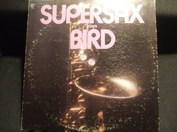 LP - SUPERSAX. Plays Bird.1973