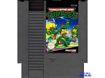 TEENAGE MUTANT HERO TURTLES NES SCN NES-88-SCN