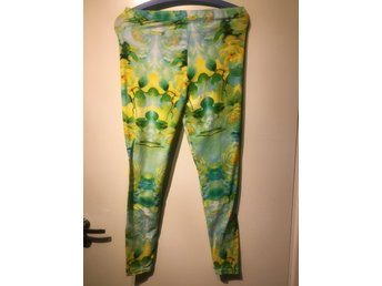 färgglada leggings dam