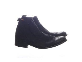 Bianco man, Boots, Strl: 44, Svart, Skinn