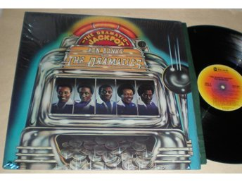 Dramatics Lp The Dramatic Jackpot Us 1975 VG++