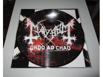 Mayhem – Ordo Ad Chao Limited Picturedisc 1000 Hand Numbered