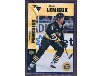 Mario Lemieux - 1996-97 Kraft Dinner Upper Deck