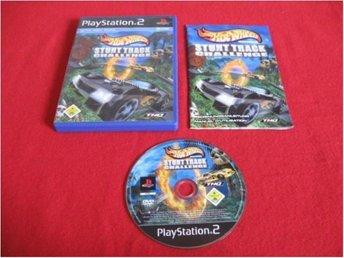 HOT WHEELS STUNT TRACK CHALLENGE till Playstation 2 PS2 - Blomstermåla - HOT WHEELS STUNT TRACK CHALLENGE till Playstation 2 PS2 - Blomstermåla