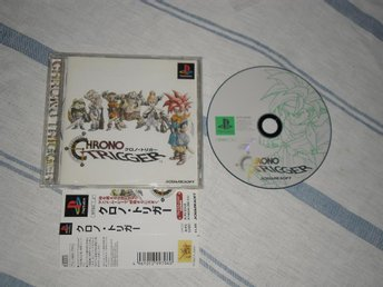 Japanskt Chrono Trigger PlayStation PS1