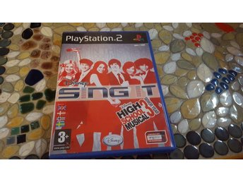 Ps2 singstar disney sing it high school musical 3 senior year