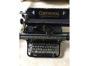 Continental antik skrivmaskin inredningsdetalj - Smygehamn - Continental antik skrivmaskin inredningsdetalj - Smygehamn