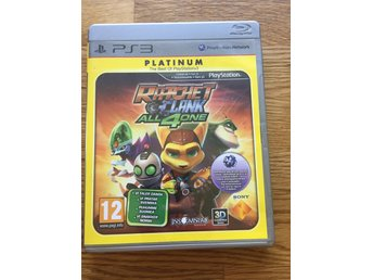 Playstation 3 - Ratchet & Clank: All 4 One till PS3