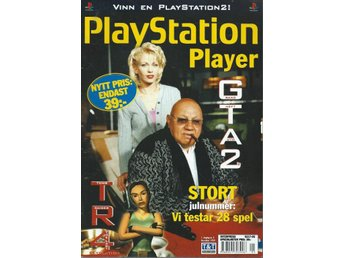 PLAYSTATION PLAYER - DECEMBER  99- TOMB RAIDER 4 ,GTA