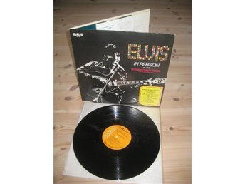ELVIS IN PERSON / RCA SX-60 Japan