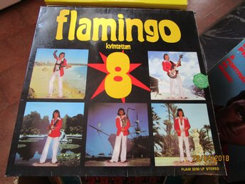 FLAMINGO KVINTETTEN 8 - LP