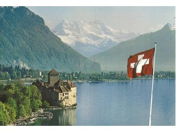 REA T2: Schweiz: Le Chateau de Chillon 1993 - Järfälla - REA T2: Schweiz: Le Chateau de Chillon 1993 - Järfälla