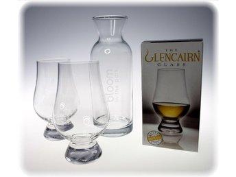 Whisky glas Glencairn för whiskyprovning karaff i glas! - Kristianstad - Whisky glas Glencairn för whiskyprovning karaff i glas! - Kristianstad