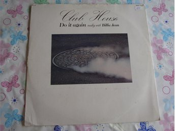CLUB HOUSE - DO IT AGIN medley with BILLIE JEAN 12""
