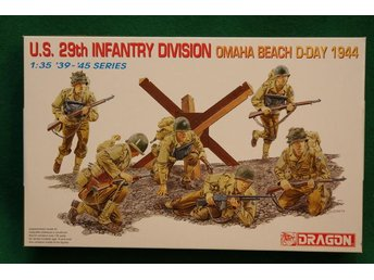 Dragon 1/35 US 29th Infantry Division, Omaha Beach, D-day 1944 - Lund - Dragon 1/35 US 29th Infantry Division, Omaha Beach, D-day 1944 - Lund