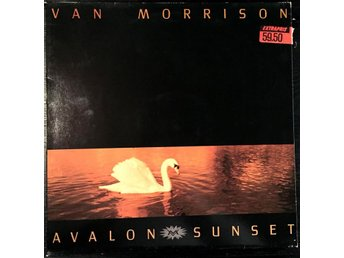VAN MORRISON - AVALON SUNSET - LP