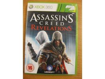 ASSASSINS CREED REVELATIONS - KOMPLETT XBOX360 SPEL - Hörby - ASSASSINS CREED REVELATIONS - KOMPLETT XBOX360 SPEL - Hörby