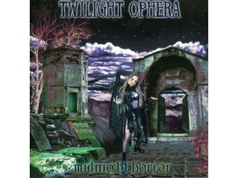 Twilight Ophera -Midnight horror CD Finnish melodic black me