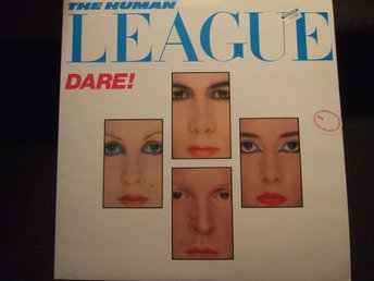LP - THE HUMAN LEAGUE. Dare! 1981