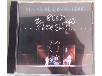 NEIL YOUNG&CRAZY HORSE RUST NEVER SLEEPS CD