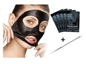 Pilaten Set - Blackhead 5-Pack + 1 st Pormaskklämmare