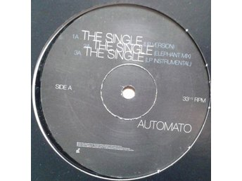 "Automato title* The Single* Breakbeat, Downtempo 12"" Germany"