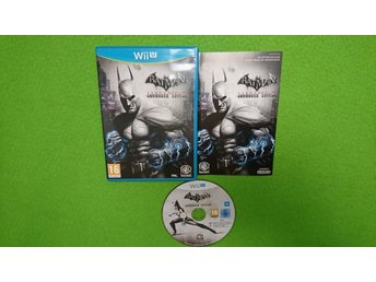 Batman Arkham City Armoured Edition KOMPLETT  Wii U Nintendo