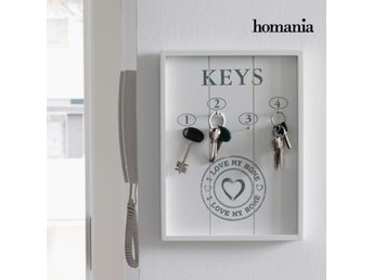 Nyckelram I Love My Home by Homania