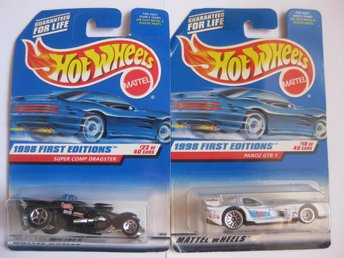 Leksaker Hot Wheels Cars Bilar Mattel - 2st Hot Wheels  - HWB 5