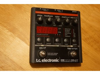 TC Electronic ND-1 Nova Delay i fint skick