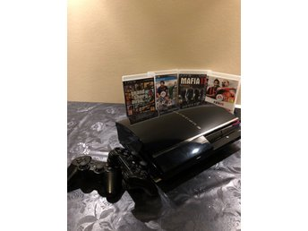 Sony PlayStation 3 - Lanserings Varianten 60 GB Piano Black