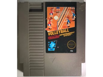 Nintendo NES 8 bit spelet Volley Ball.