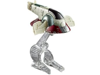 Hot Wheels Cars Bilar Starship Skepp Star Wars Disney Mattel - Boba Fett Slave 1