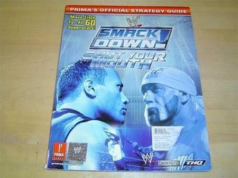 SMACKDOWN SHUT YOUR MOUTH SPELGUIDE GUIDE WALKTHROUGH *NYTT*