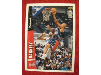 CHARLES BARKLEY  - UD COLLECTORS CHOICE 1996 - HOUSTON ROCKETS - BASKET