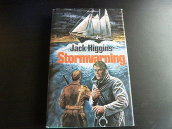 STORMVARNING,  J.HIGGINS,  1977,  BOK, BÖCKER