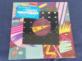 "EL DeBARGE with DeBARGE - You wear it well, 12"" Gordy 4545GG, 1985"
