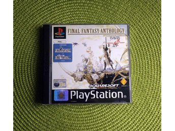 Final Fantasy Anthology - PSX, PSOne. Utrop 1 kr!