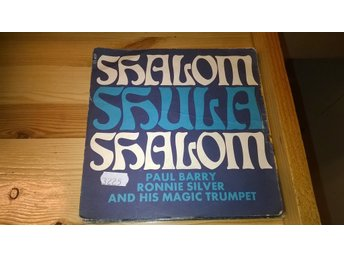 Paul Barry / Ronnie Silver and his magic trumpet- Shalom Shula Shalom, EP, rare!