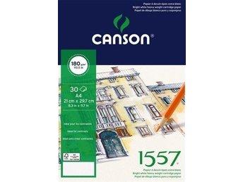 Canson, 1557 Ritblock Spiral 180g - 50ark - A4 - Hammarö - Canson, 1557 Ritblock Spiral 180g - 50ark - A4 - Hammarö