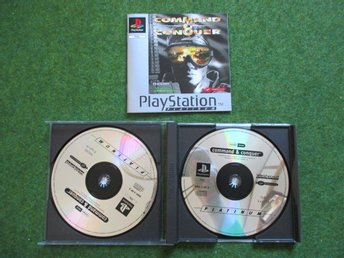 Playstation 1: Commans & Conquer