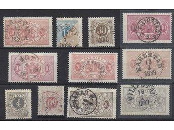 PARTI: ÅMOT 1889,GRUMS -91,EKSHÄRAD -78,TORSBY -86,DEGERFORS VERML. 29.1.187(8) - Uppsala - PARTI: ÅMOT 1889,GRUMS -91,EKSHÄRAD -78,TORSBY -86,DEGERFORS VERML. 29.1.187(8) - Uppsala