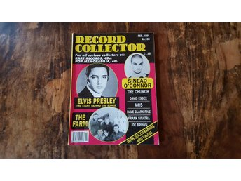 Record Collector/ Feb 1991 / Elvis Presley / Sinead O'Connor / The Farm