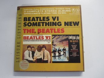 The Beatles - Beatles VI / Something new - Rullband