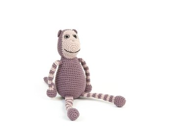 Smallstuff - Crochet Monkey - Old Rose
