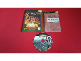 INDIANA JONES till Xbox