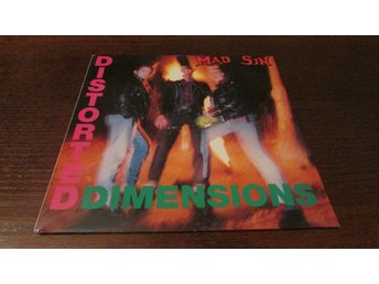 MAD SIN - DISTORTED DIMENSIONS - LP - 1990 - PSYCHOBILLY