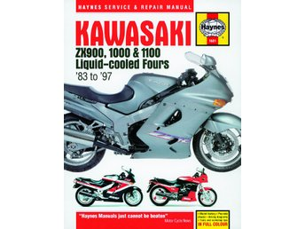Haynes manual Kawasaki ZX900, 1000 & 1100 Fours 83-97