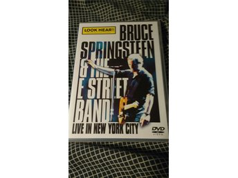 Bruce Springsteen & E street band , live in New york city