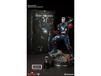 Iron Patriot 1:4 Scale Maquette Sideshow / Hot toys